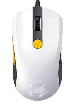 Herné myši Genius GX Gaming Scorpion M8-610 bielo-žltá (31040064103)