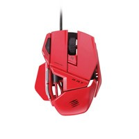 Herné myši Mad Catz R.A.T.3 GM, červená ROZBALENÉ