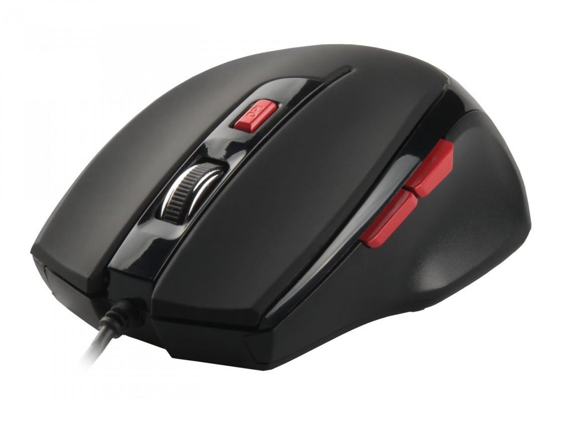 Herné myši Natec Genesis G33 herná optická myš, 2000 DPI, USB, čierna