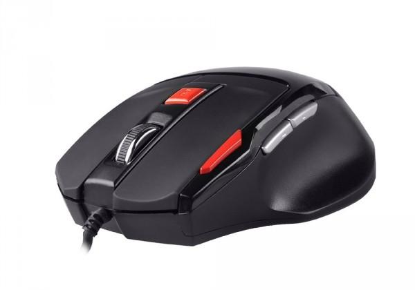 Herné myši Natec Genesis G55 herná optická myš, 2000 DPI, USB, čierna