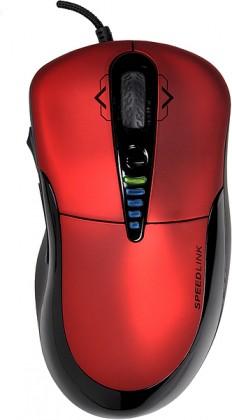 Herné myši SPEED LINK PRIME Gaming Mouse, červená