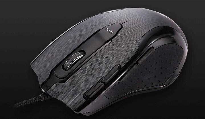 Herné myši Tesoro Shrike H2L, čierna