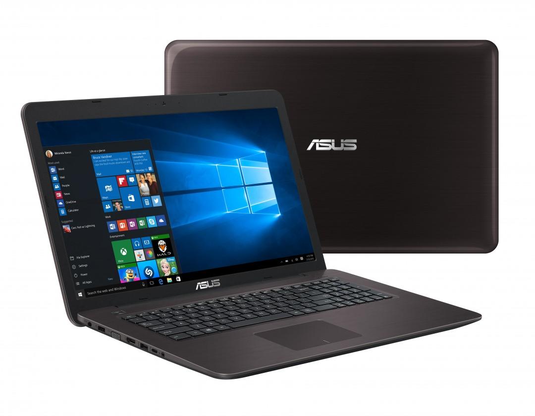 Herné notebook Asus F756UJ-T4027T