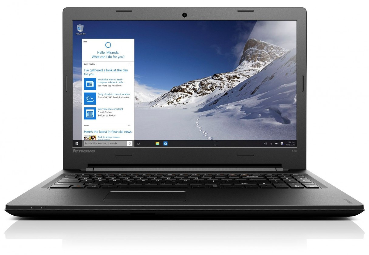 Herné notebook Lenovo IdeaPad 100 80QQ010WCK