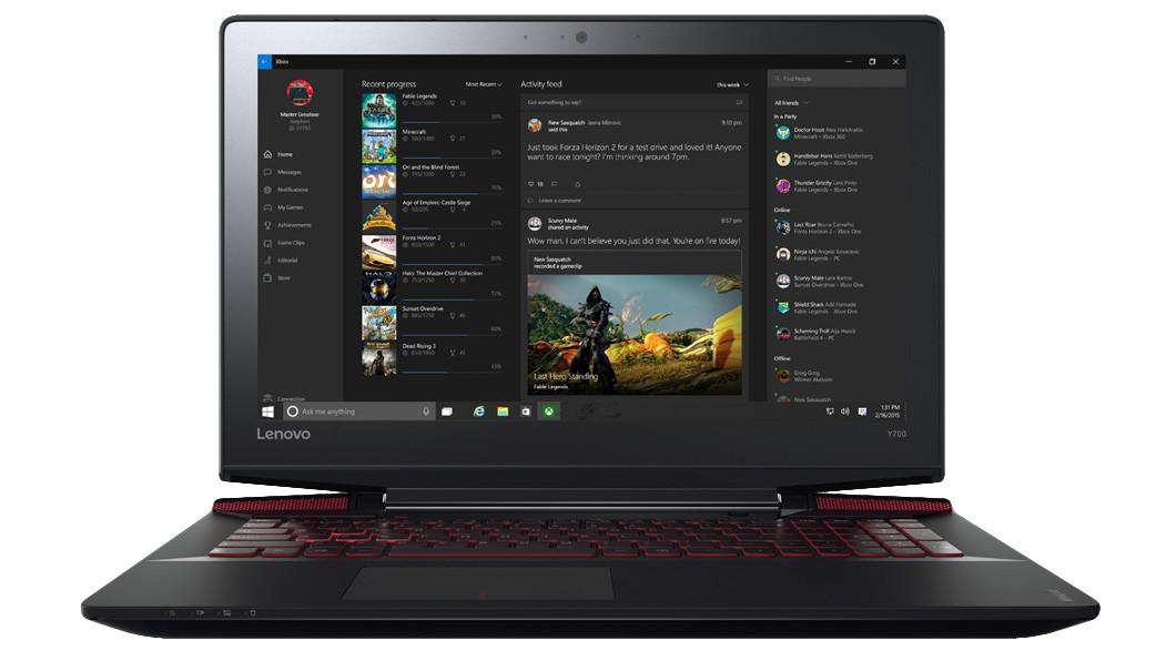 Herné notebook Lenovo IdeaPad Y700 80NY001TCK