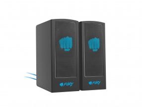 Herné reproduktory FURY Skyray 2.0, 5W, čierna