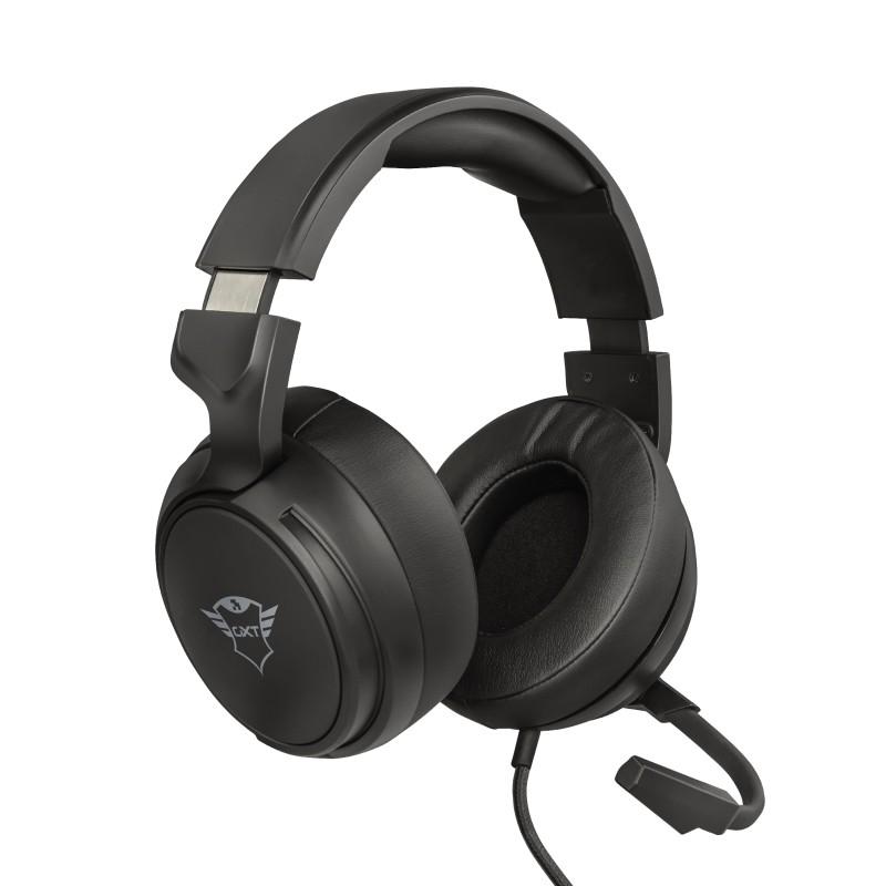 Herné slúchadlá Herný headset Trust GXT 433 Pylo, 1 m, 3,5 mm jack, čierna