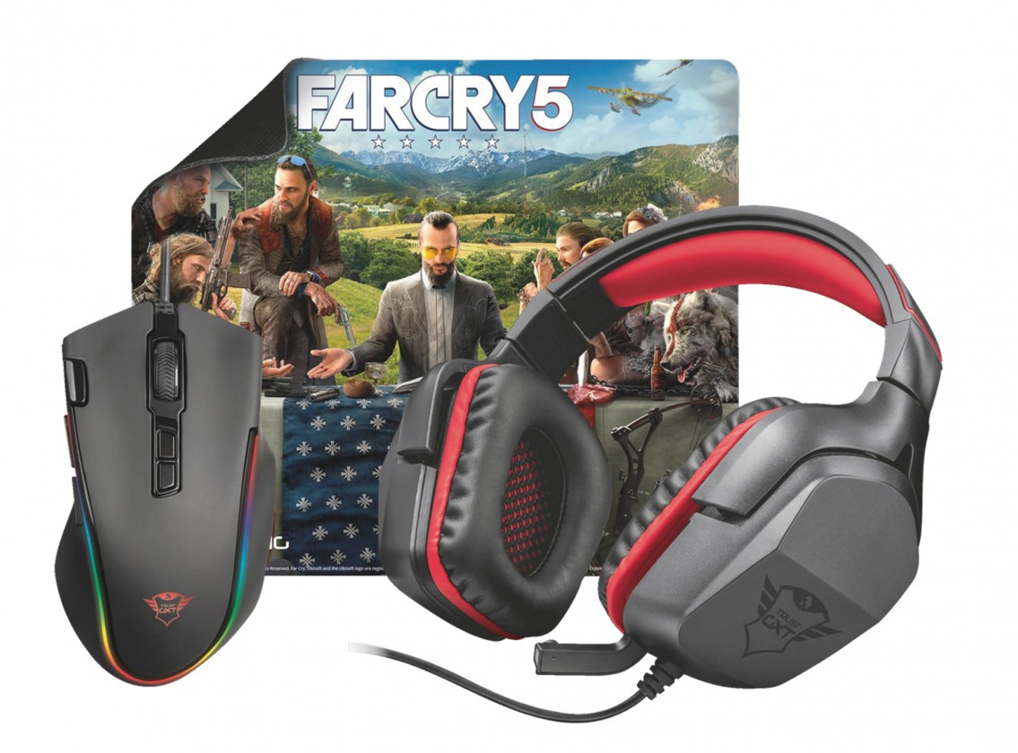 Herné slúchadlá Trust GXT Gaming Bundle 3-in-1 including free Far Cry 5