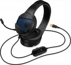 Herný headset Connect IT Evogear Ed. 2, s mikrofónom, čierna