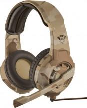 Herný headset Trust GXT310D Radius, desert camo