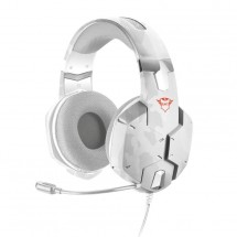 Herný headset Trust GXT322, biela kamufláž