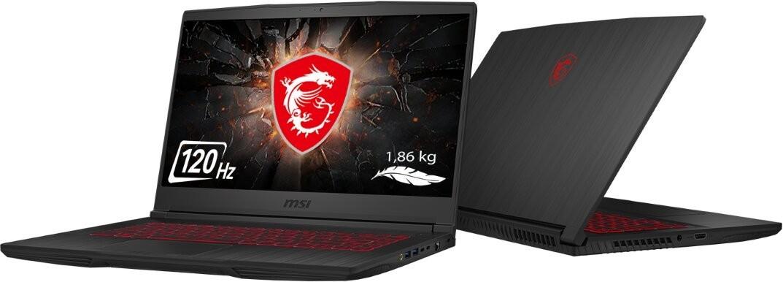 "Herný notebook Herný notebook GF65 Thin 9SEXR-228CZ 15,6"" i5 8GB, SSD 512GB, 6GB"