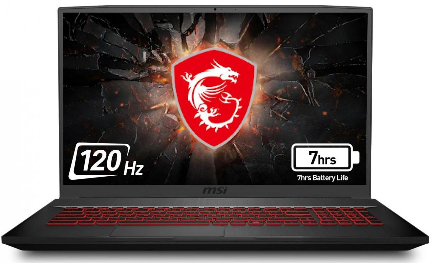 "Herný notebook Herný notebook MSI GF75 9SC-443CZ 17,3"" i5 8GB, SSD 512GB, 4GB"