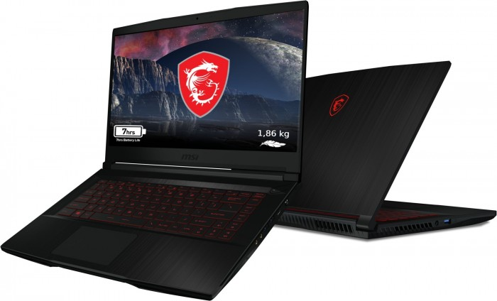 "Herný notebook MSI GF63 Thin 10SCXR-410CZ 15,6"" i5 8GB, 512GB"