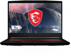 "Herný notebook MSI GF63 Thin 9SC-409CZ 15"" i7 8GB, 512GB, 4GB"