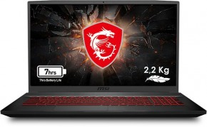 "Herný notebook MSI GF75 Thin 9SC-210CZ 17"" i7 16GB, 512GB, 4GB"