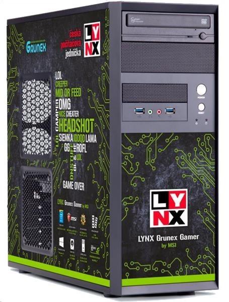 Herný počítač LYNX Grunex Gamer 2015 W10 HOME (10462256)