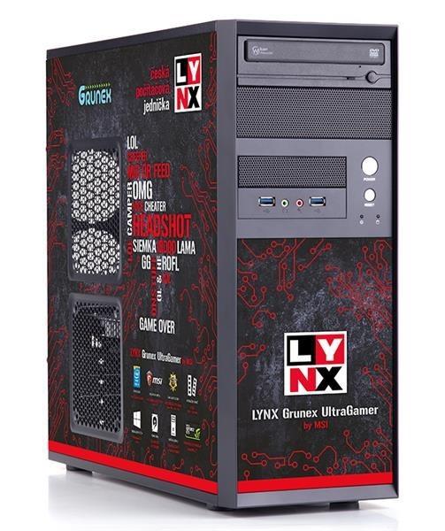 Herný počítač LYNX Grunex UltraGamer 2015, 10462228O BAL POŠKODENÝ