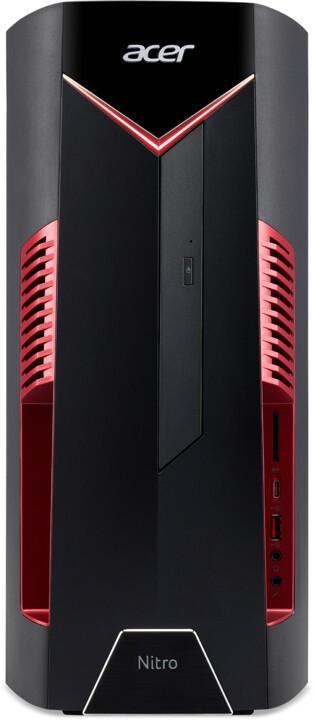 Herný počítač PC Acer Nitro N50-600 /i5-9400F/16GB/256GB SSD+1TB/GTX 1660