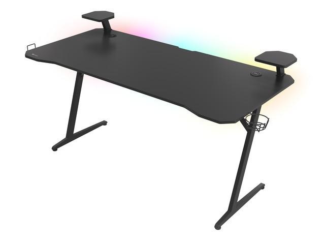 Herný stôl Genesis Holm 510 RGB + ZDARMA podložka pod myš a hub