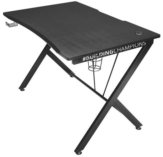 Herný stôl Trust GXT 711 Dominus 22523 čierny + ZDARMA podložka pod myš a hub