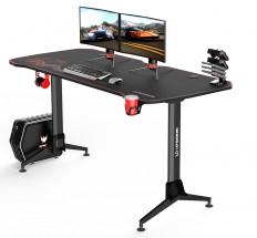 Herný stôl ULTRADESK GRAND RED červený UDESK-GD-RD