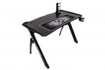 Herný stôl ULTRADESK INVADER čierny UDESK-IN-BB