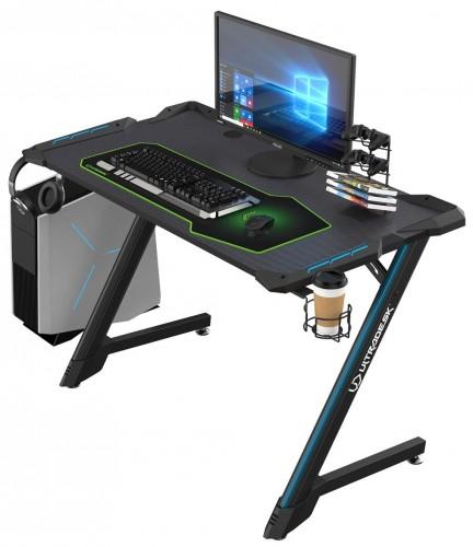 Herný stôl ULTRADESK SPACE UDESK-SP-BK + ZDARMA podložka pod myš