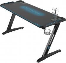 Herný stôl ULTRADESK SPACE XXL BLUE UDESK-SP-BU