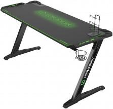 Herný stôl ULTRADESK SPACE XXL GREEN UDESK-SP-GX