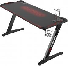 Herný stôl ULTRADESK SPACE XXL RED UDESK-SP-RX