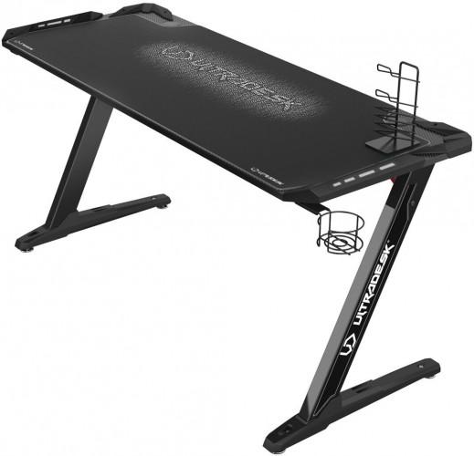 Herný stôl ULTRADESK SPACE XXL WHITE UDESK-SP-WX + ZDARMA podložka pod myš a hub