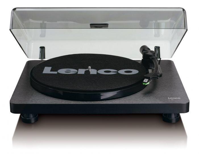 Hi-Fi gramofóny Gramofon Lenco L-30 černý