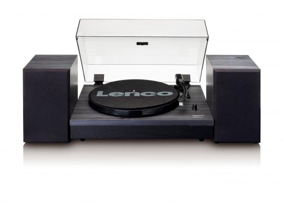 Hi-Fi gramofóny Gramofon Lenco LS-300 čierny