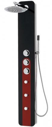 Hibiskus 251t  Sprchový hydromasážny panel (černé)