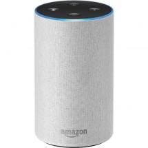 Hlasový asistent Amazon Echo Sandstone (bílý) (2.generace)