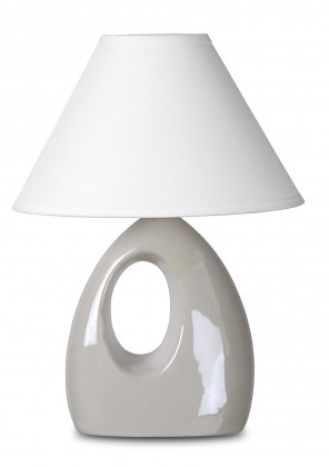 Hoal - lampička, 9W, E14 (biela)
