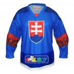Hokej. dres SK,znak, modrý