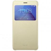 Honor 6X Smart Cover - S-View flip pouzdro, Gold
