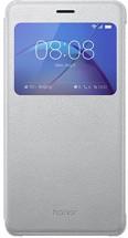 Honor 6X Smart Cover - S-View flip pouzdro, Silver
