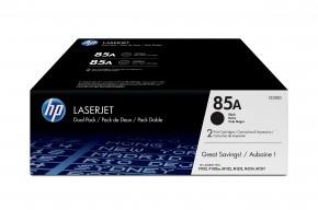 HP 85A Black 2-pack LJ Toner Cart, 2 x 1 600 str, CE285AD