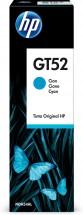 HP GT52 - azurová lahvička s inkoustem