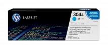 HP tlačová kazeta CC531A, azúrová