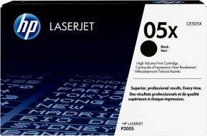 HP tlačová kazeta CE505X veľká, čierna