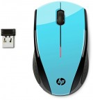 HP X3000 Blue Wireless Mouse - MOUSE (K5D27AA#ABB)