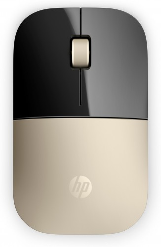 HP Z3700 Wireless Mouse - Gold (X7Q43AA#ABB)