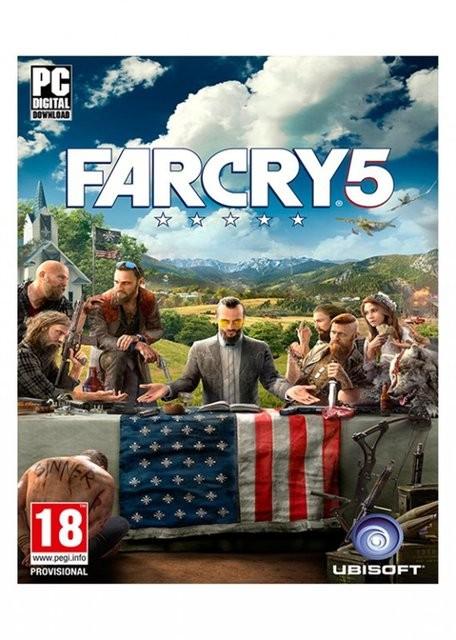 Hra na PC Far Cry 5 (3307216025382)