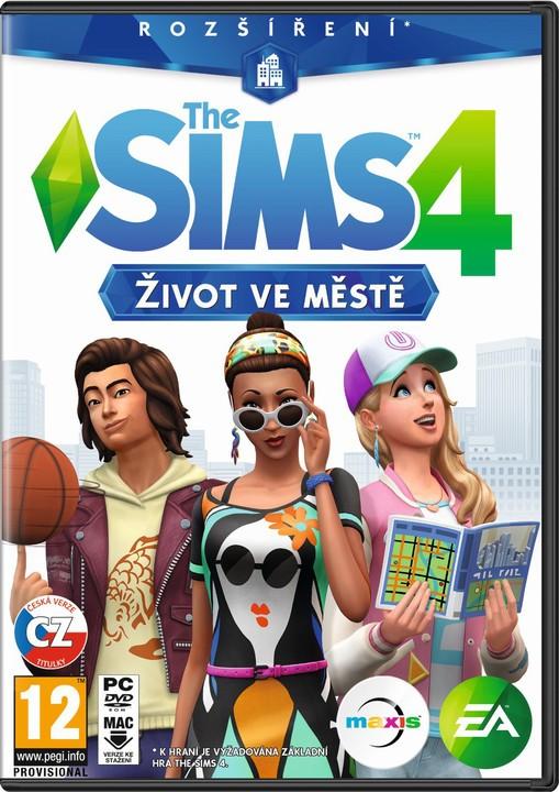 Hra na PC PC hra - The Sims 4 hra - Život ve městě