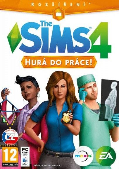 Hra na PC The Sims 4 - Hurá do práce (5030937112519)