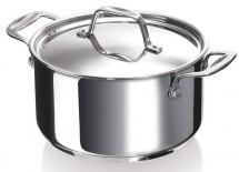Hrniec s pokrievkou Chef Beka 12061204, nerez, 20cm